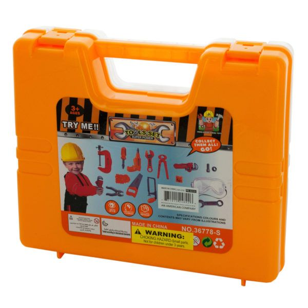 Kids Tool Set In Carrying Case, Pack Of 2