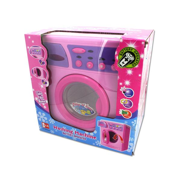 Battery Operated Toy Washing Machine
