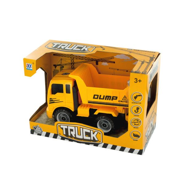 Diy Construction Dump Truck With Tools, Pack Of 2