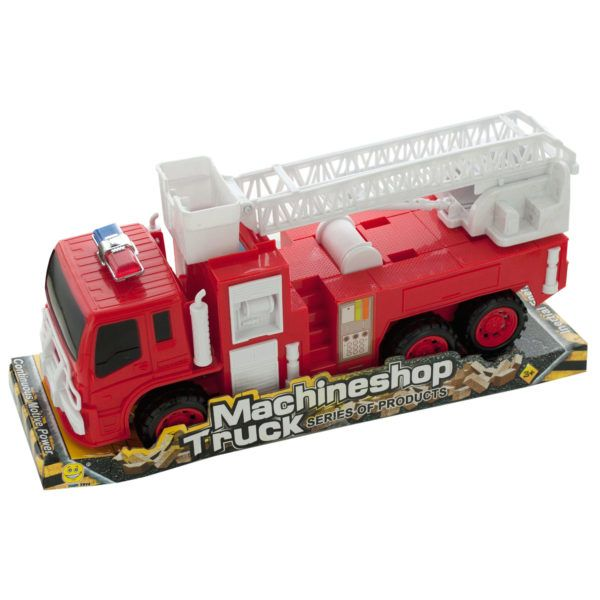 Friction Powered Fire Rescue Truck, Pack Of 2