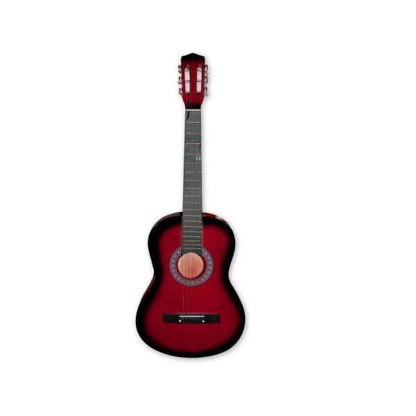 Red Tinted Guitar