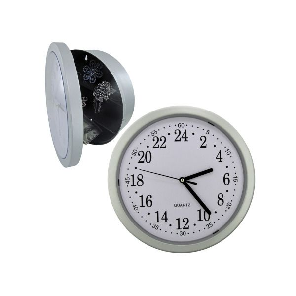 Kitchen Clock Safe