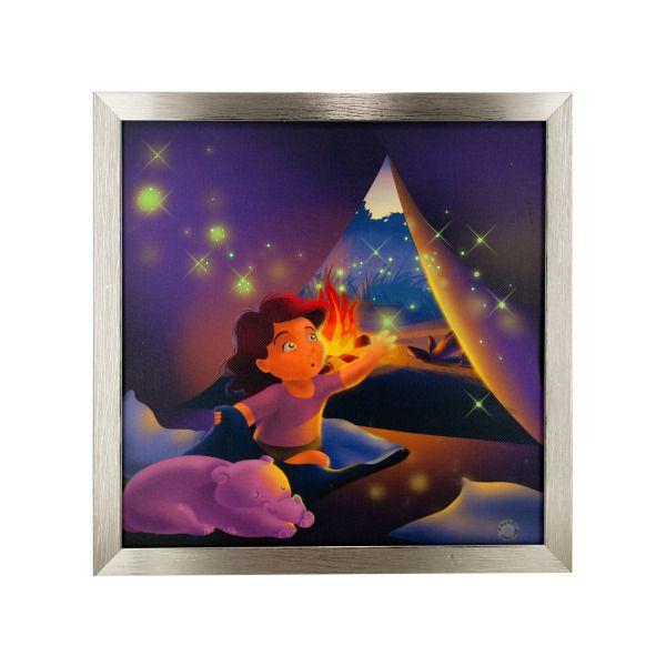Camping Magic Musical Light Up Art