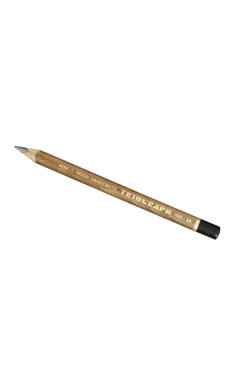 Triograph Pencil, 2b