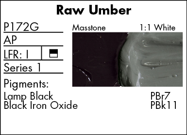 Pre-tested® Oil Raw Umber 37 Ml.