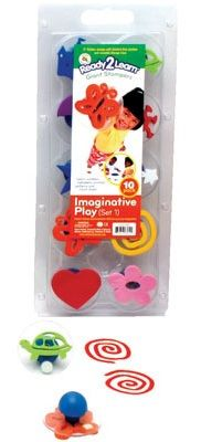 Ready 2 Learn Giant Stampers - Imaginative Play - Set 1 - Set Of 10