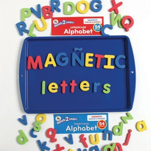 Ready 2 Learn Magnetic Alphabet - Uppercase And Lowercase - Set Of 108