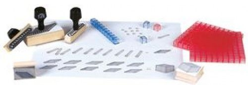 Ready 2 Learn Base 10 Block Stamps - Set Of 6