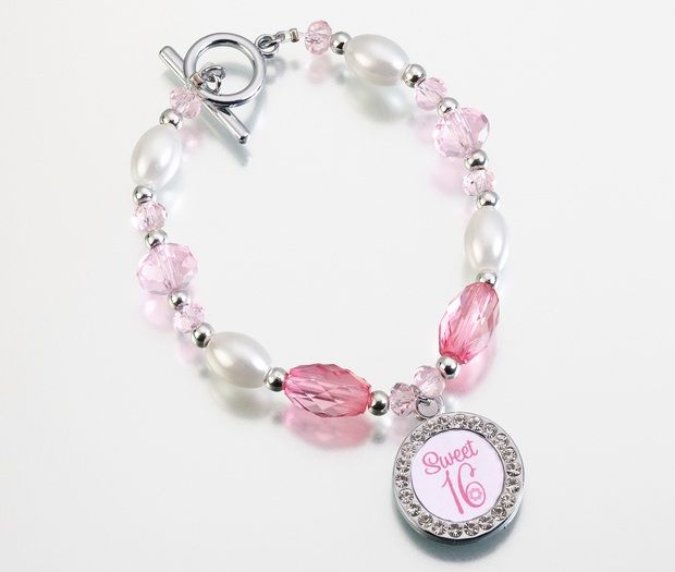 Pink Sweet Sixteen Bracelet