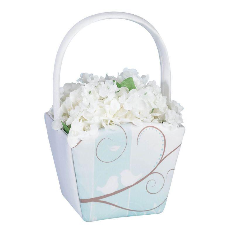 Love Birds Flower Girl Basket