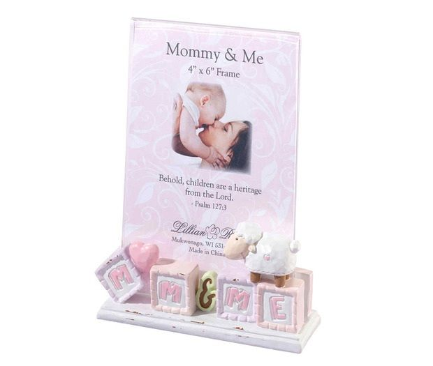 Mommy & Me Baby Picture Frame Little Lamb