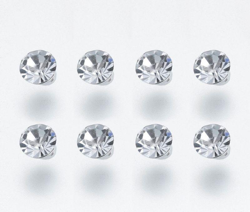 8 Rhinestone Bouquet Picks