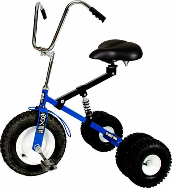 MCM Dirt King Adult Dually Tricycle: Blue