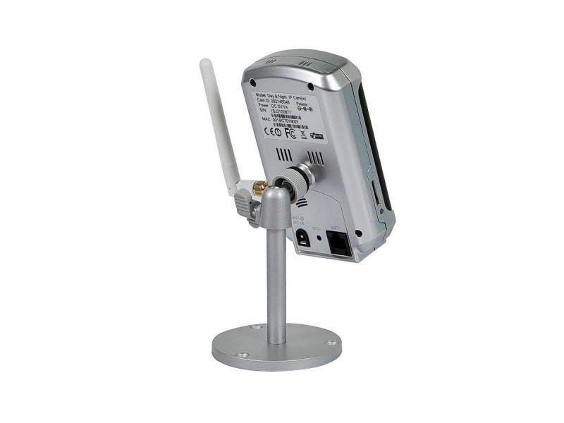 Monoprice Plug & Play Wireless Day And Night Network Ip Camera W/ Audio - Mpeg4 (Open Box)
