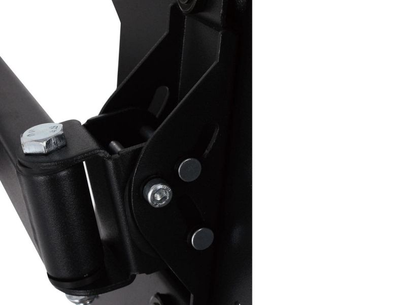 Monoprice Ez Series Full Motion Articulating Tv Wall Mount Bracket For Led Tvs 23in To 55in, Max Weight 77 Lbs., Extension Range Of 2.2in To 24.0in, Vesa Patterns Up To 400x400, Ul Certified