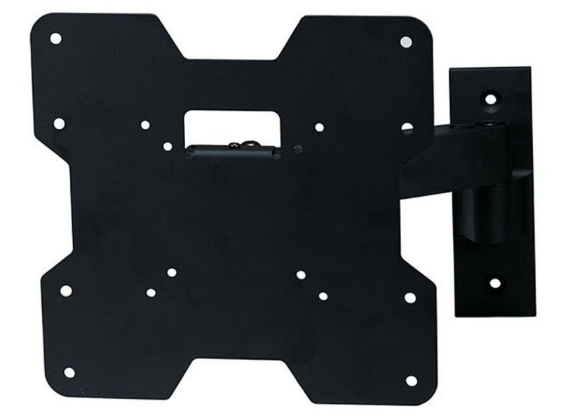 Monoprice Ez Series Full Motion Tv Wall Mount Bracket - For Tvs 24In To 37In, Max Weight 80Lbs, Extension Range Of 3.2In To 9.7In, Vesa Patterns Up To 200X200