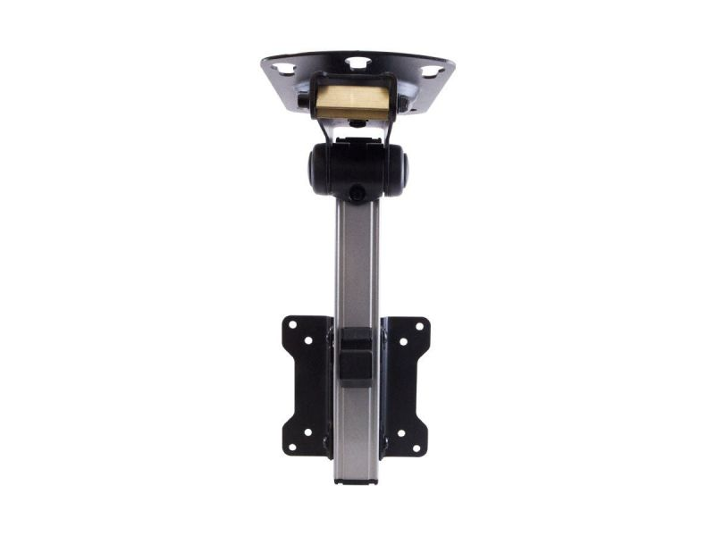 Monoprice Commercial Series Under Cabinet And Rv Tilt Tv Wall Mount Bracket For Tvs Up To 27in, Max Weight 44lbs, Vesa Patterns Up To 100x100