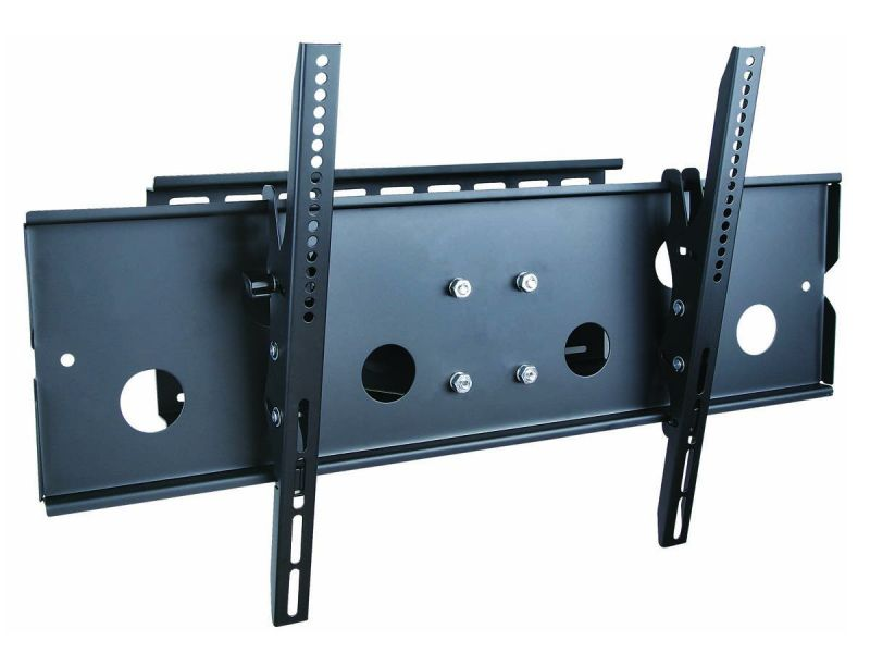 Monoprice Commercial Series Corner Friendly Full-motion Articulating Tv Wall Mount Bracket - Tvs 32in To 60in, Max Weight 125 Lbs., Extends From 5.0in To 26.5in, Vesa Up To 750x450, Concrete And Brick