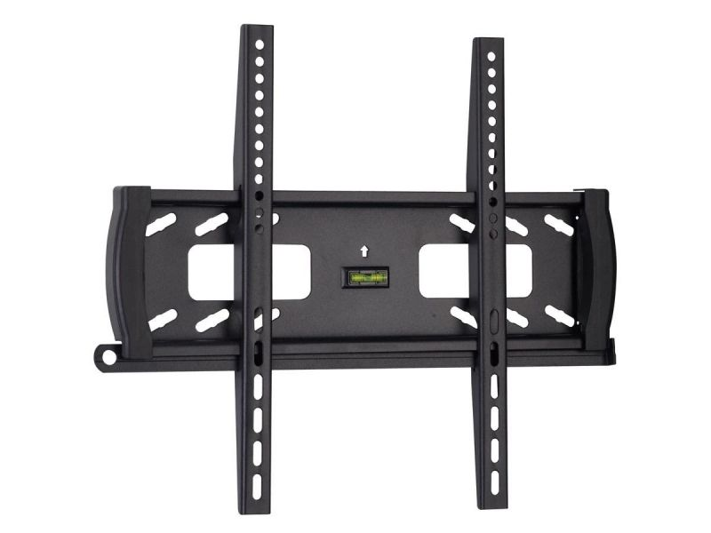 Monoprice Commercial Series Anti-theft Low Profile Fixed Tv Wall Mount Bracket For Tvs 32in To 55in, Max Weight 99 Lbs., Vesa Patterns Up To 400x400, Security Brackets, Ul Certified