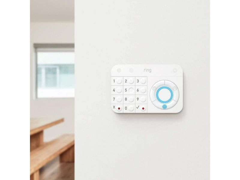 Ring Alarm – Home Security System Optional 24/7 Monitoring No Contracts 5 Piece Kit – Works With Alexa (Open Box)