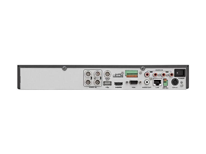 Mono Ch Hd-Tvi Dvr, 5 In 1,H.265+, Up To 5Mp Input, UpTo 2Ch 6Mp Ip Cameras Input,Support Up To 4 Hd-Tvi / Analog Cameras + 2 Ip Cameras Hdmi