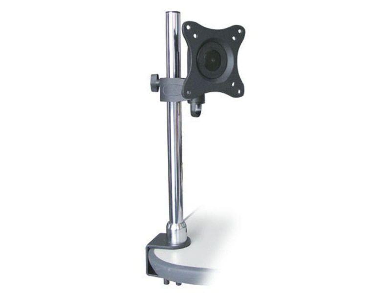 Monoprice Adjustable Tilting Desk Mount Bracket For 10~23in Tvs Up To 33 Lbs, Black
