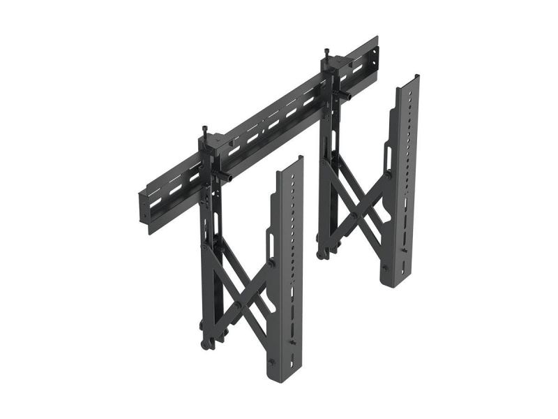 Monoprice Commercial Series Menu Board Video Wall Tv Wall Mount Bracket With Push-to-pop-out - Max Weight 99 Lbs., Extension Range Of 2.7in To 8.5in, Vesa Patterns Up To 600x400, Security Brackets