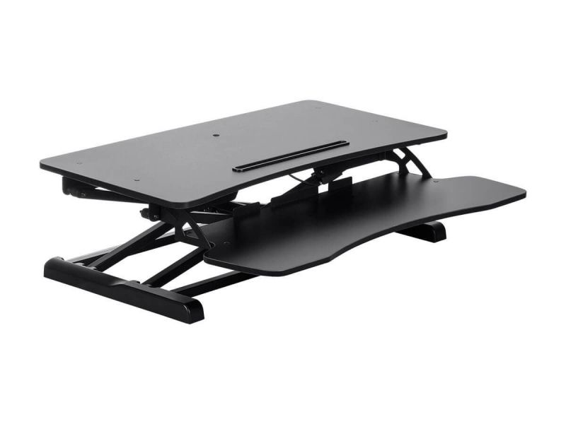 Workstream By Monoprice Sit-Stand Compact Workstation Desk Converter, 31In