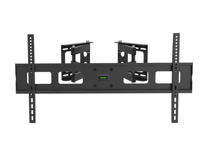 Monoprice Cornerstone Series Corner Friendly Full-motion Articulating Tv Wall Mount Bracket For Led Tvs 37in To 63in, Max Weight 132lbs, Vesa Patterns Up To 800x400