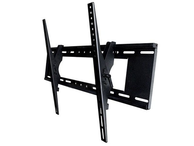 Monoprice Ez Series Tilt Tv Wall Mount Bracket - For Led Tvs 37in To 63in, Max Weight 200 Lbs, Vesa Patterns Up To 800x400, Security Brackets