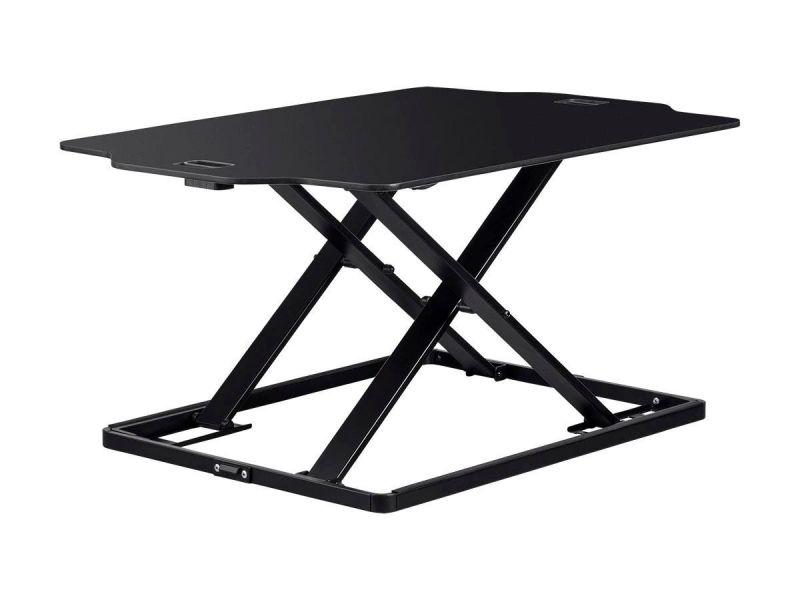 Workstream By Monoprice Ultra-slim Sit-stand Table Desk Converter, Black