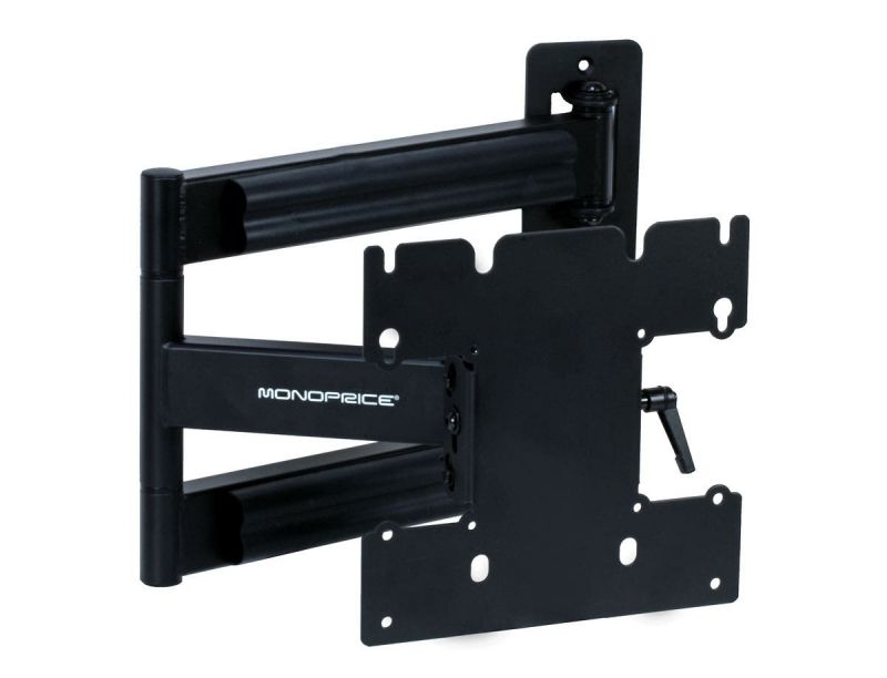 Monoprice Ez Series Full-motion Articulating Tv Wall Mount Bracket - For Led Tvs 23in To 40in, Max Weight 80 Lbs, Extension Range Of 3.0in To 24.0in, Vesa Patterns Up To 200x200
