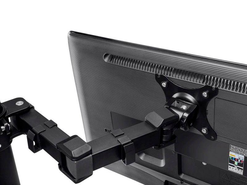 Monoprice Essential Quad Monitor Articulating Arm Desk Mount