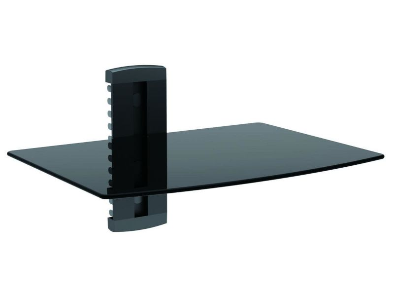 Monoprice Single Shelf Wall Mount For Tv Components With Weight Capacity 17.6 Lbs