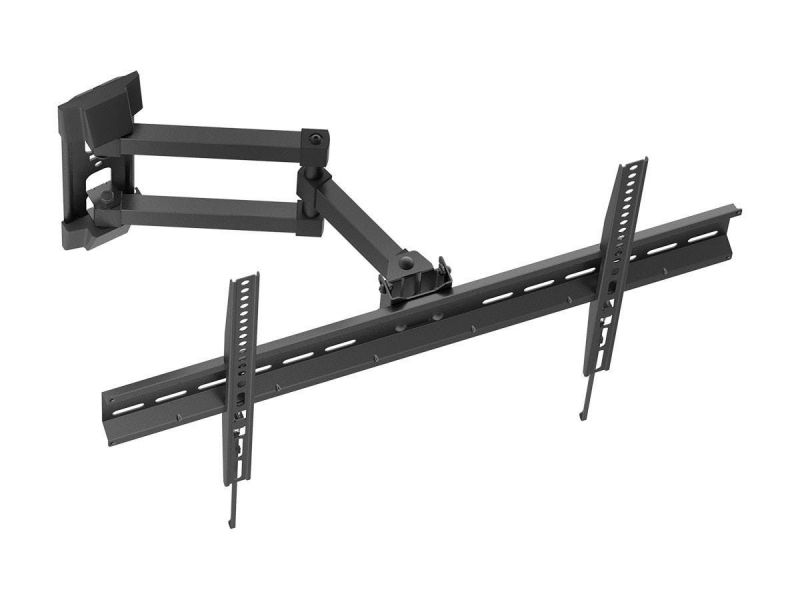 Monoprice Full-Motion Articulating Tv Wall Mount Bracket - For Flat Screen Tvs 37In To 70In, Max Weight 77Lbs, Extension Range Of 3.3In To 17.4In, Vesa Patterns Up To 600X400, Rotating