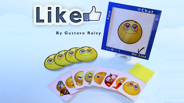 Like (gimmicks And Online Instructions) By Gustavo Raley - Trick