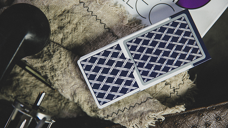 Card College (Blue) Playing Cards By Robert Giobbi And Ark Playing Cards