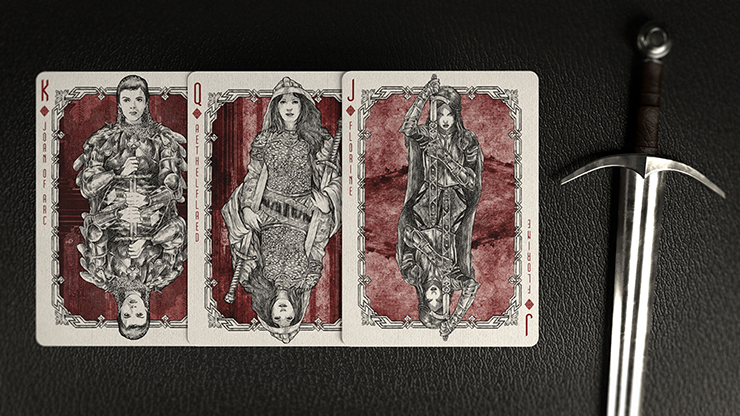 Warrior Women Playing Cards By Headless Kings