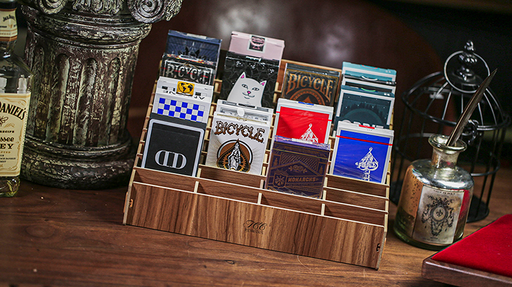 Wooden (large- 40 Decks) Playing Card Display By Tcc