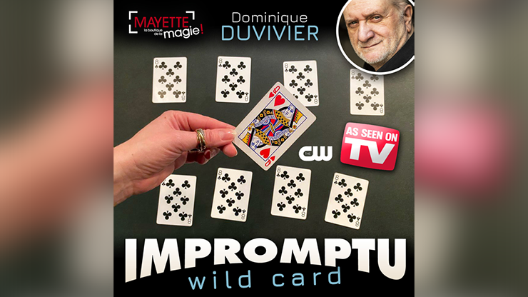 Impromptu Wild Card (gimmicks And Online Instructions) By Dominique Duvivier - Trick