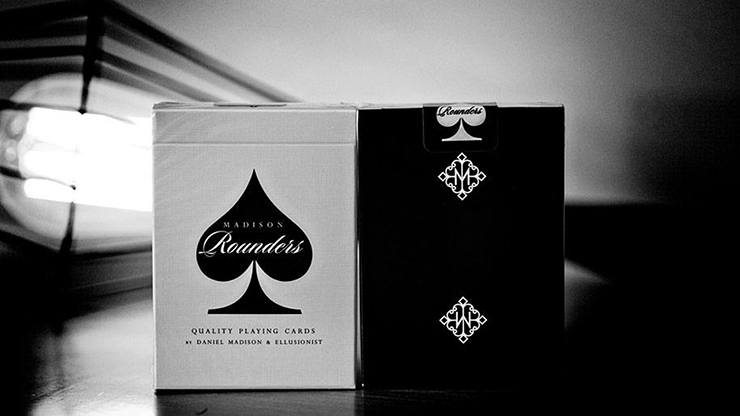 Rounders (black) Playing Cards