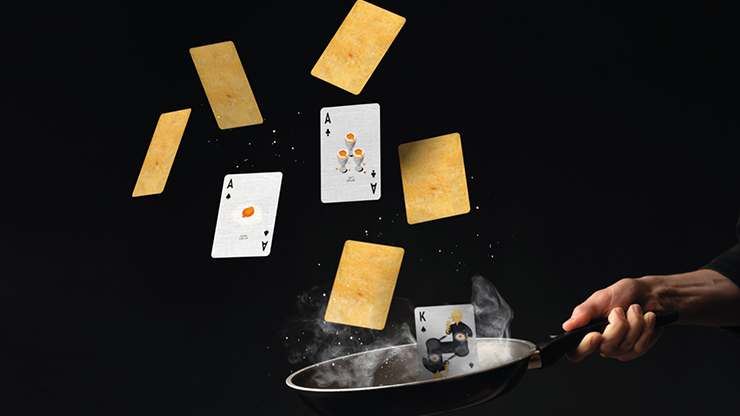 The Sandwich Series (egg) Playing Cards
