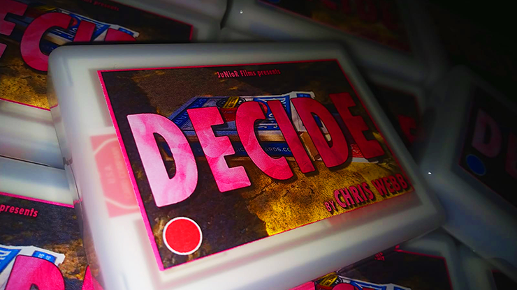 Decide Red By Chris Webb By Chris Webb - Trick
