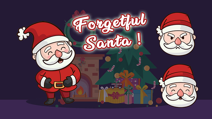 Forgetful Santa (professional Model)by Magie Climax - Trick