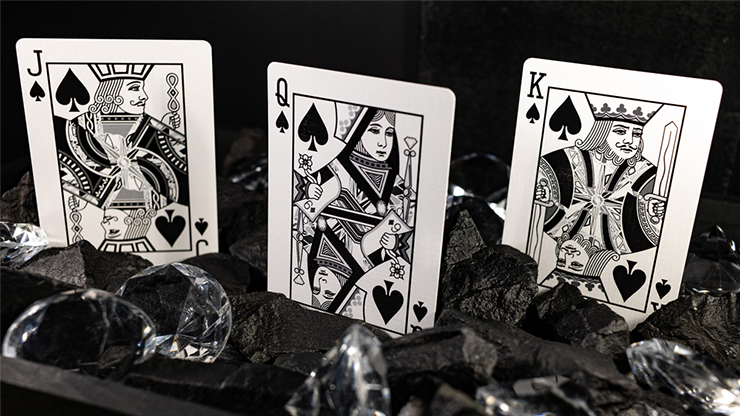 Carbon (diamond Edition) Playing Cards
