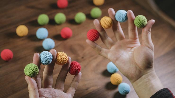 Crochet Ball Set (yellow) By Tcc