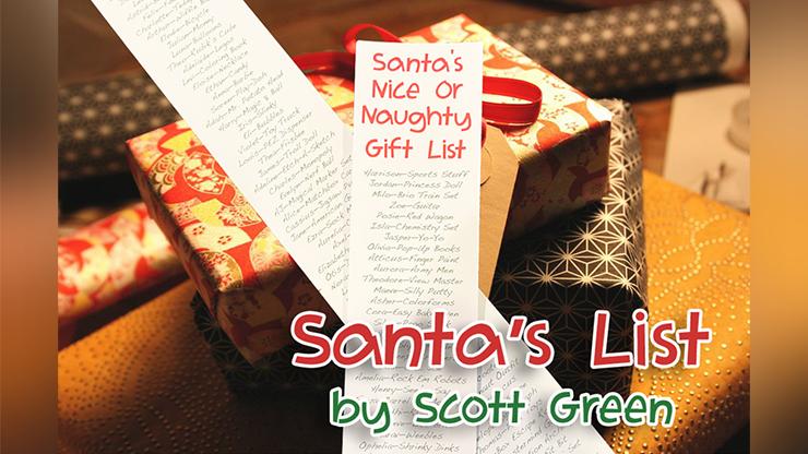 Santa's List By Scott Green - Trick