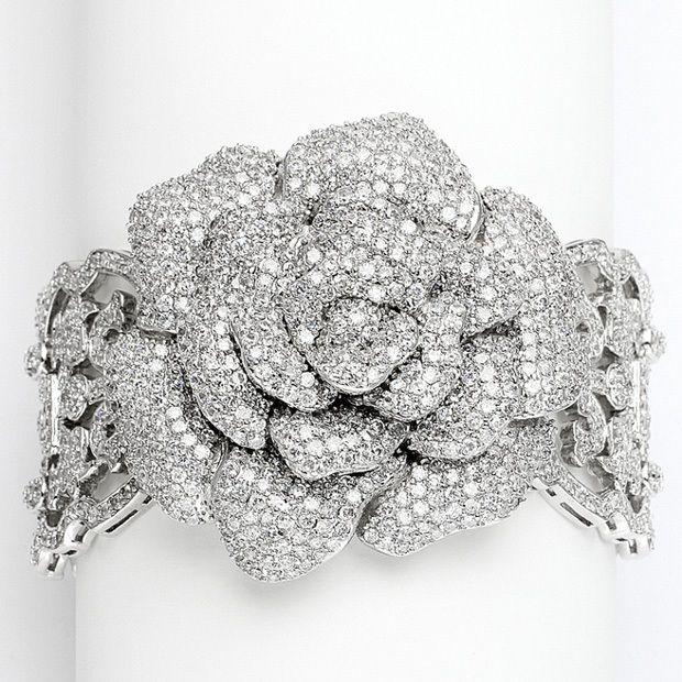 Vintage Jewel Encrusted Heirloom Bracelet