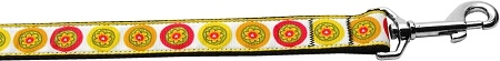 Autumn Daisies 1 Inch Wide 6ft Long Leash
