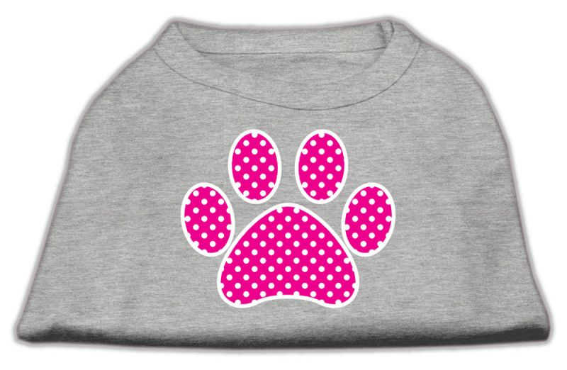 Be Thankful For Me Screen Print Shirt Bright Pink M